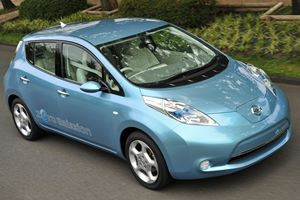 nissan leaf electric car 300 200
