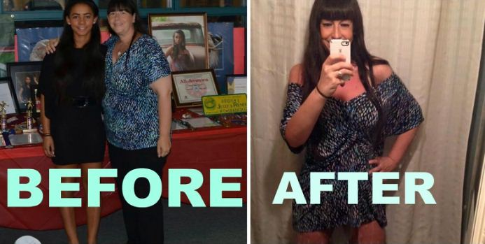 Sue lost 124  pounds with intermittent fasting