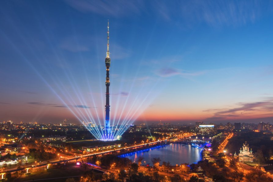 Ostankino tower TV Moscow