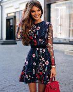 Модели платьев из шифона – Самые красивые шифоновые платья 2019-2020: короткие, миди, длинные шифоновые платья